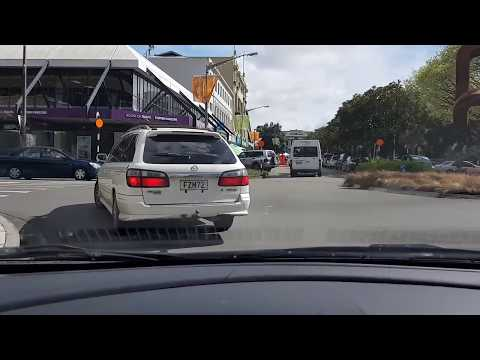 23-09-2017 | Driving arround Palmerston North | Election day, The Square, PAK'nSAVE, The Plaza