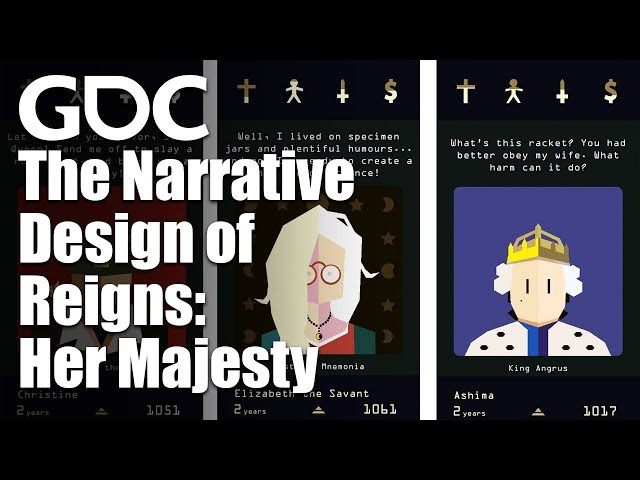 Queens of the Phone Age: The Narrative Design of Reigns: Her Majesty