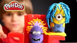 Minions Toys Review: Despicable Me Play-Doh Set: Disguise Lab​​​ | Arcadius Kul​​​