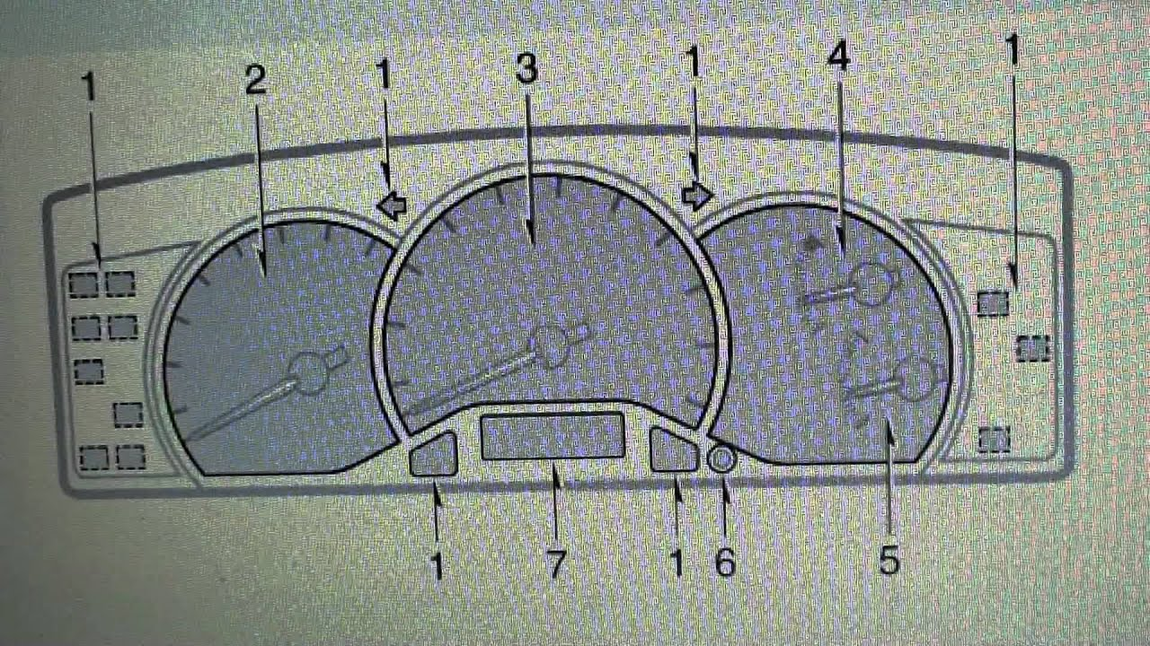 toyota corolla dashboard warning lights symbols what they mean e120 e130 [ 1280 x 720 Pixel ]