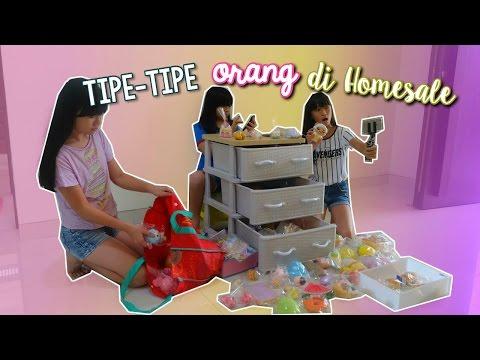 Tipe-Tipe Orang di Homesale SQUISHY?! | Brenda Priscilla