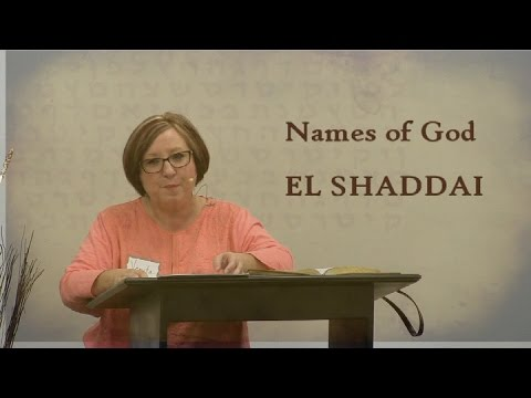 Names of God, EL SHADDAI, Teacher Venita Page