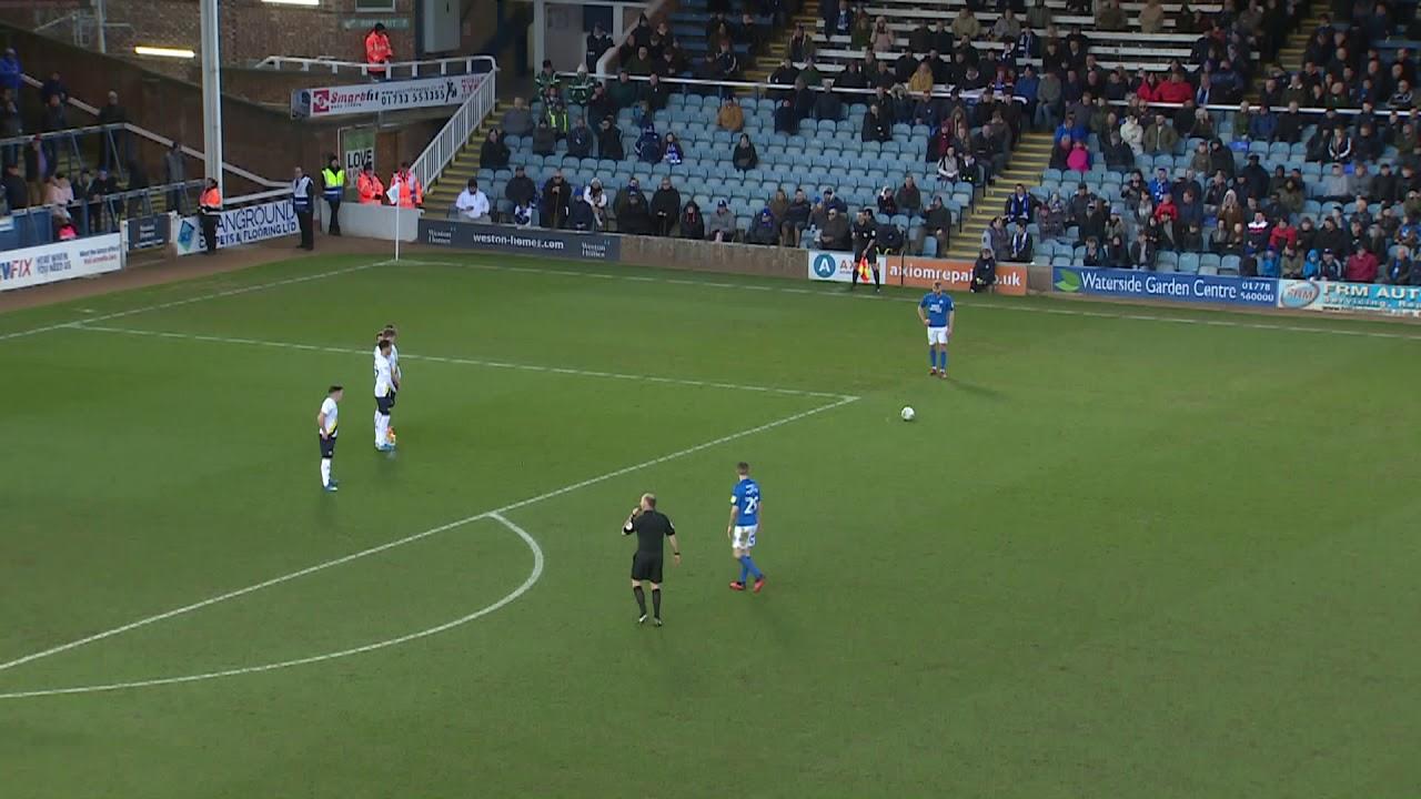 Питерборо Юнайтед  4-0  Оксфорд Юнайтед видео