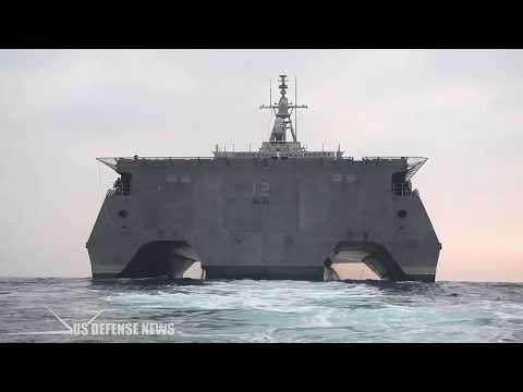 U.S. Navy Just Commissioned its Newest Littoral Combat Ship, The $440 Million USS Omaha