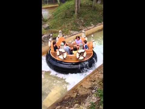 Water Rides at Dollywood Sep 2014