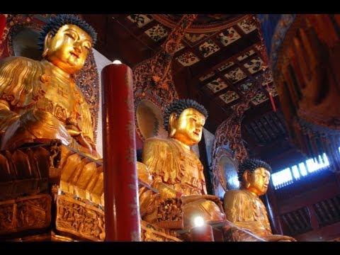 Jade Buddha Temple Featuring Buddhist Monk Ceremonies-Shanghai, China