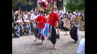 美祢市の文化財 秋芳町 別府念仏踊