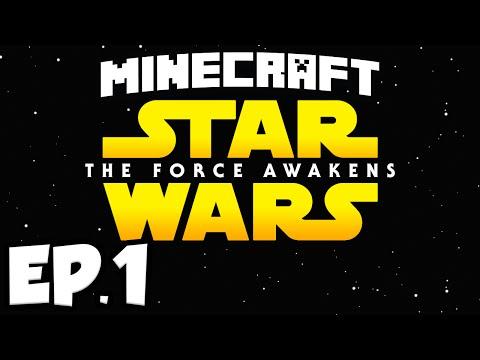 Star Wars: The Force Awakens Ep.1 - HUNTING EWOKS (Minecraft Modded Survival)