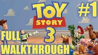 Toy Story 3 walkthrough part #1 | NDS Gameplay | Nintendo DS | NO COMMENTARY