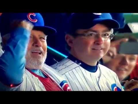 Chicago Cubs going to the World Series Saturday October 22, 2016