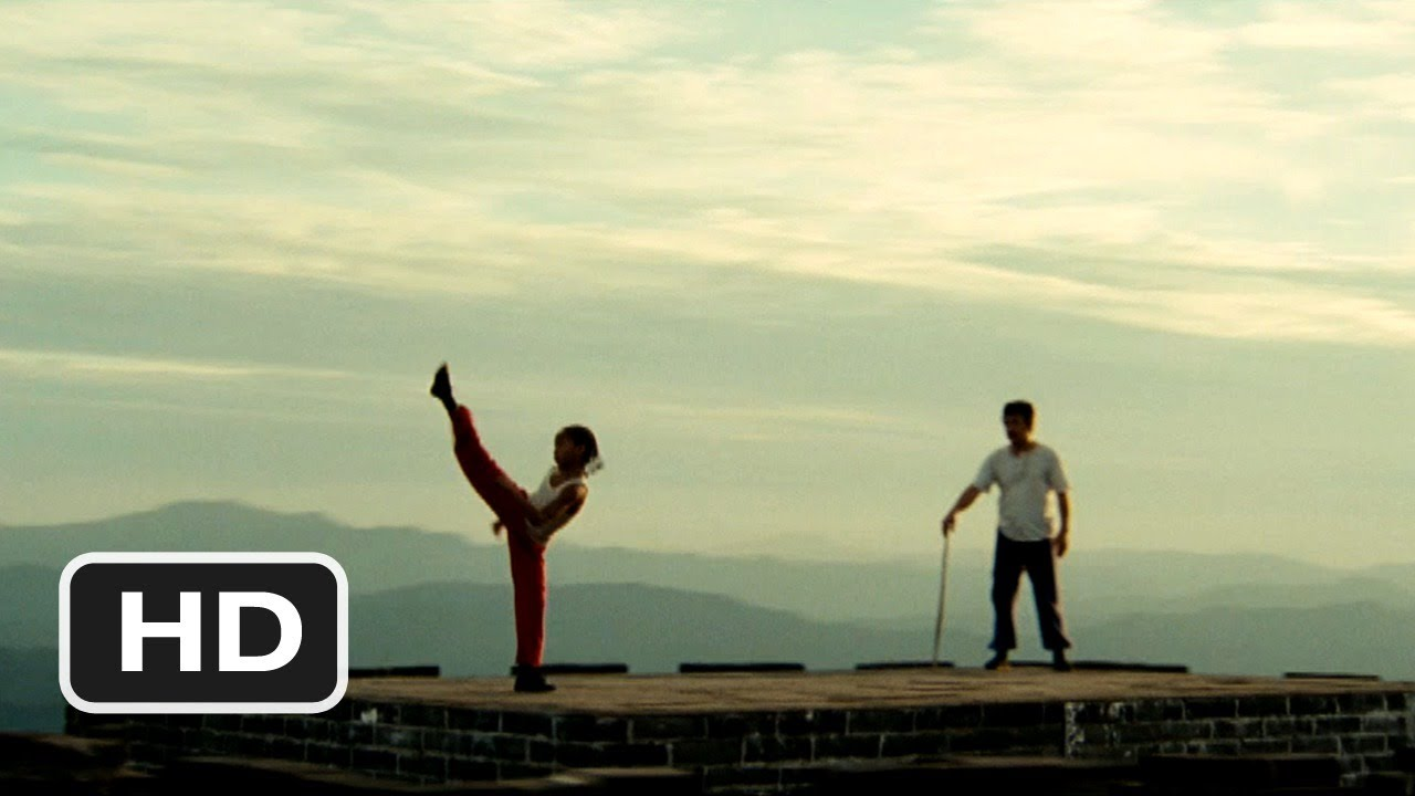 The Karate Kid #3 Movie CLIP - Great Wall Training (2010) HD - YouTube