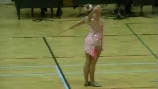 Eline Dokter Volharding Kampen - Rhythmic twirl 16-03-2013