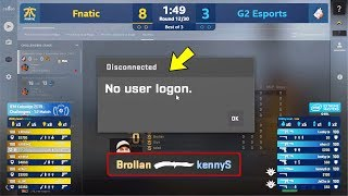 csgo exe fails during ESL then KennyS gets knifed literally Katowice ft Flusha GeT RiGhT JW