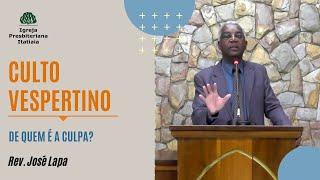 Culto Vespertino (16/08/2020) - Igreja Presbiteriana Itatiaia