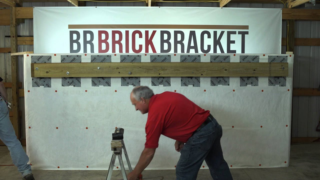 Br Brick Bracket Installation Video Youtube