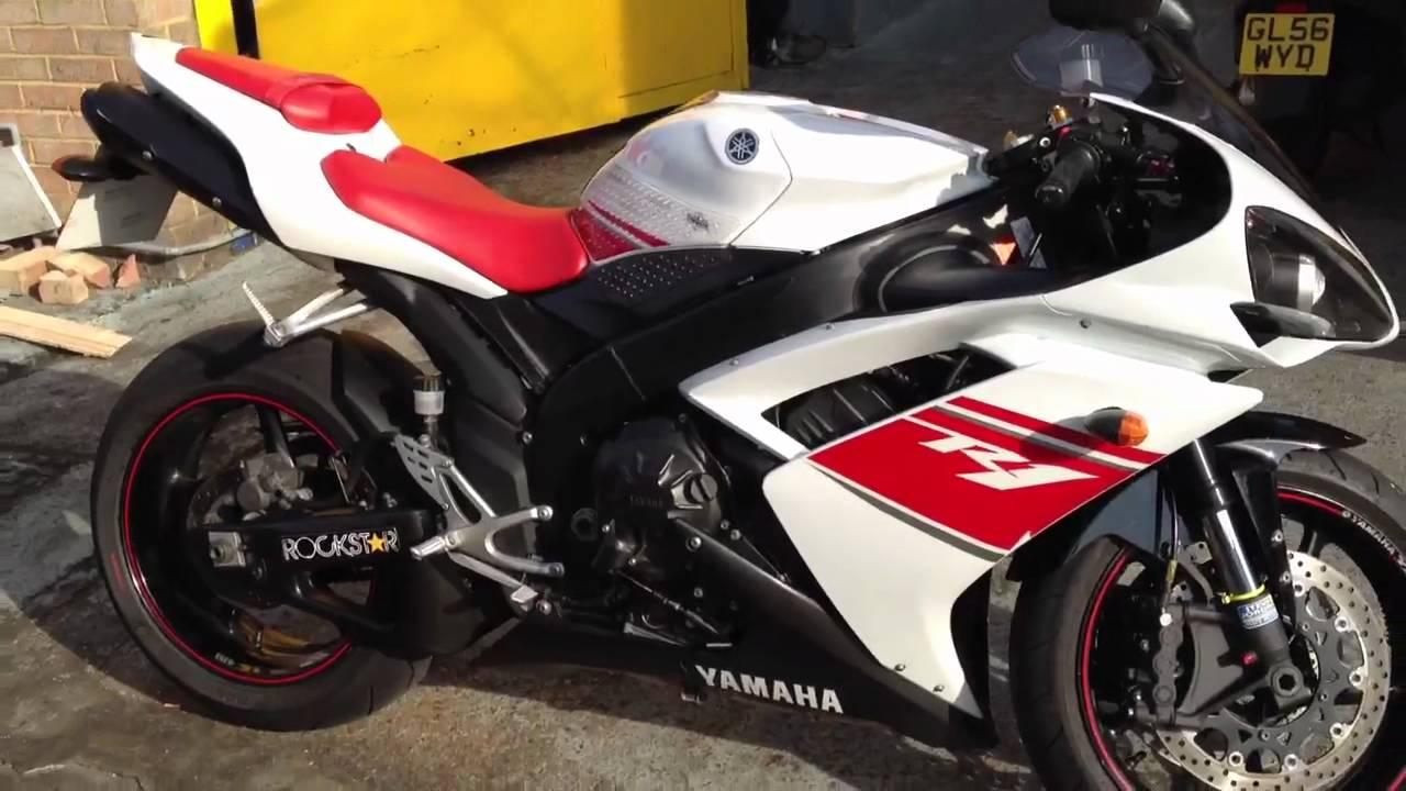 Yamaha Yzf R1 2007 White  Red