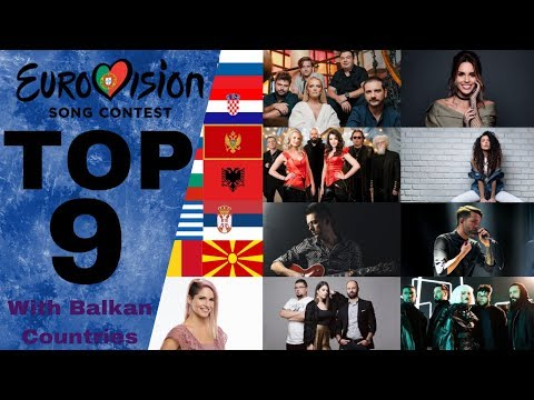 Eurovision 2018 Top 9| With Balkan Countries