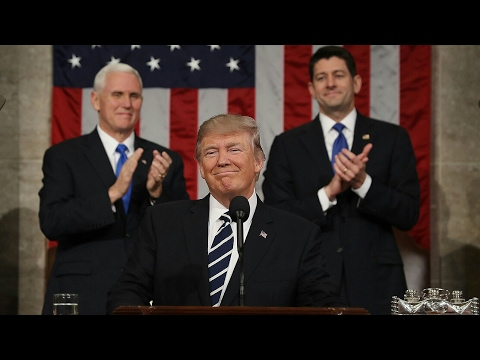 President Donald Trump: Addresses Joint Session Of Congress.