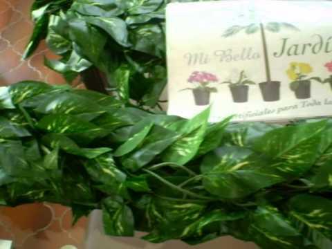 Plantas artificiales enredaderas a accesorios decorativos for Plantas ornamentales artificiales