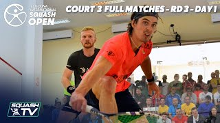 Squash: El Gouna International 2019 - Court 3 - Full Matches - Rd 3 Day 1