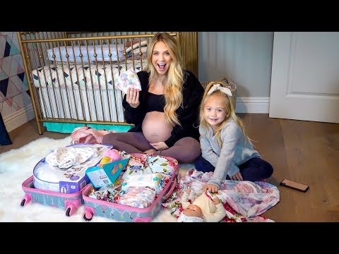 The Baby is ALMOST HERE!!!! (Packing Our Hospital Bag)