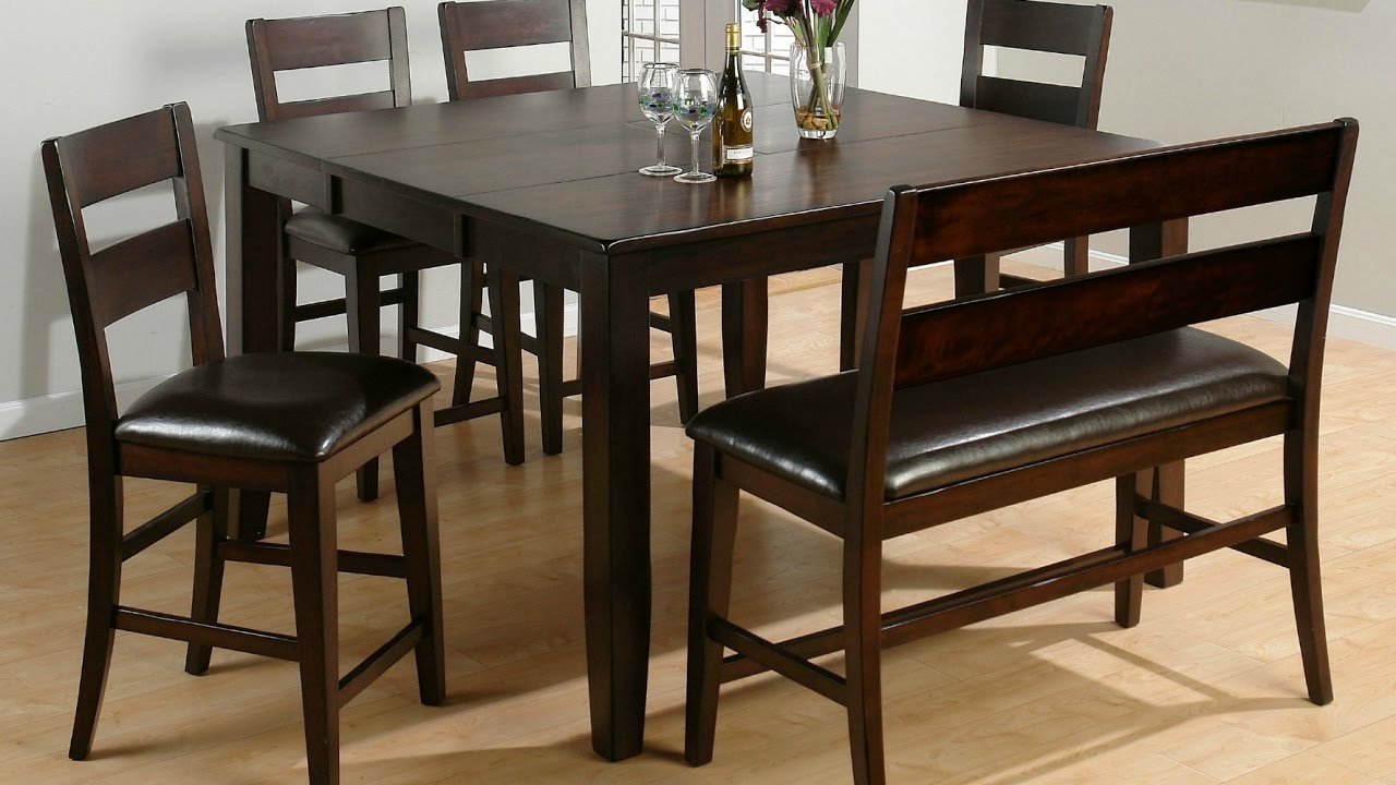 Awesome Black Dining Bench With Back, Bench Seat With Back For Dining Room Table
