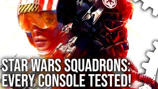 Star Wars Squadrons - Every Console Tested + A Generation of Frostbite - How Far We've Come!