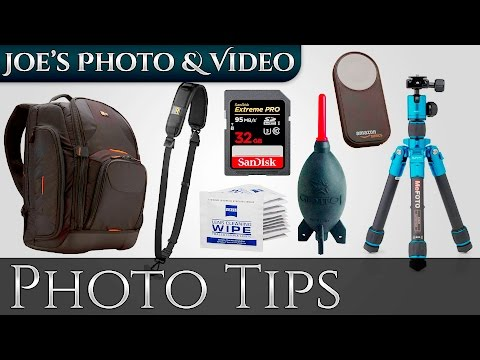 Beginners Camera Accessory Buying Guide, 2016 - Photography Tips