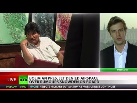 'Imperial Skyjacking': Bolivian pres. jet grounded in Austria over rumours Snowden on board