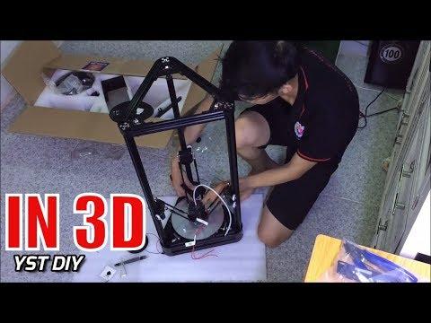 Tự Lắp Ráp Máy In 3D ANYCUBIC KOSSEL Ngon Bổ Rẻ - Yêu Sáng Tạo