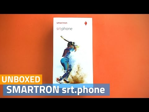 Smartron srt.phone Unboxing and First Look | Sachin Tendulkar Smartphone