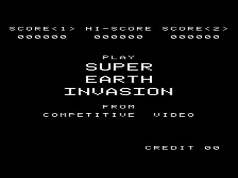 Super Earth Invasion (Arcade)