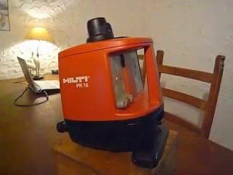 hilti pr16 laser rotatif automatique mise a niveau de. Black Bedroom Furniture Sets. Home Design Ideas