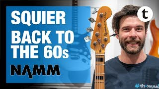 NAMM 2019 | New Fender Squier Guitars | Thomann