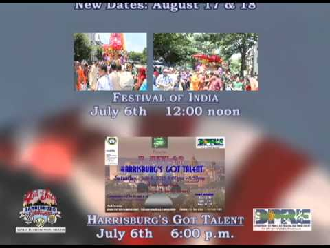 City of Harrisburg's 4th of July Events 2013
