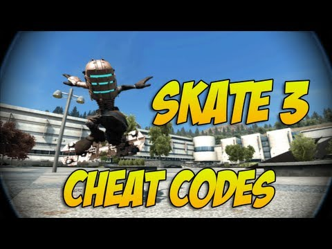 Skate 3 - Cheat Codes & Extra Skaters