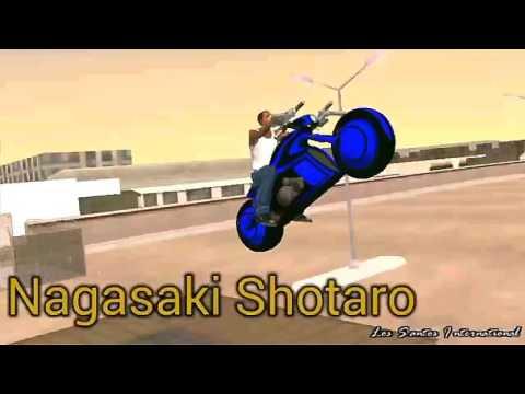 Tron bike gta sa (android)