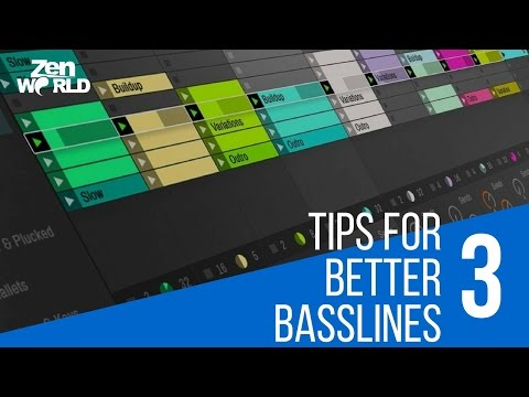 3 Tips To Get Better Basslines For EDM
