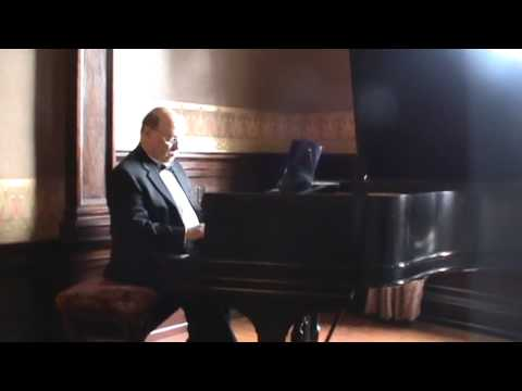 Fred Yacono, Pianist For Events, Wedding Prelude Somewhere In Time At The Semple Mansion