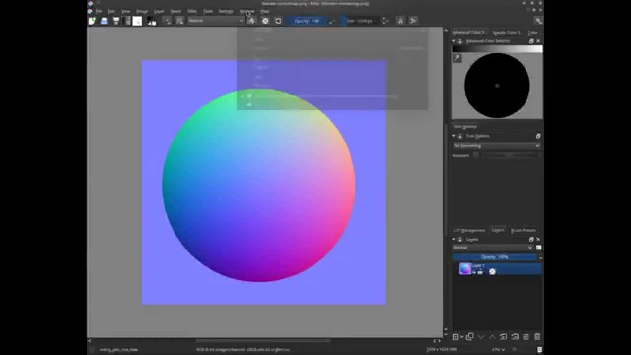 how to stop brushes from fading krita