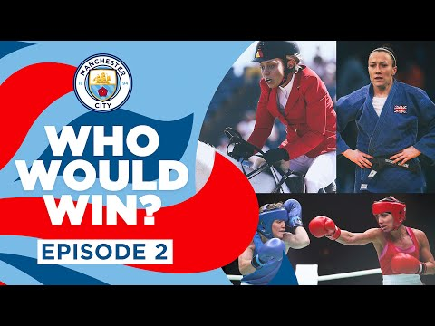 who will win?     Episode 2    With Lucy Bronze, Georgia Stanway, Demi Stokes and Esme Morgan
