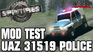 MOD TEST | UAZ 31519 Police | SPINTERES