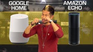 Google Home vs. Amazon Echo (Prizefight)