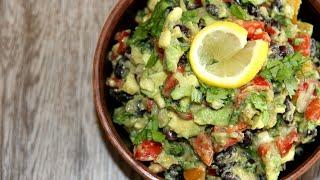 Очень часто готовлю на ланч Салат с авокадо и фасолью Очень вкусный и быстрый в приготовлении салат