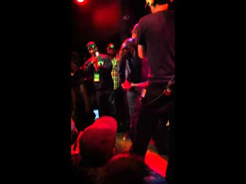 Cory Gunz freestyle at SOBs