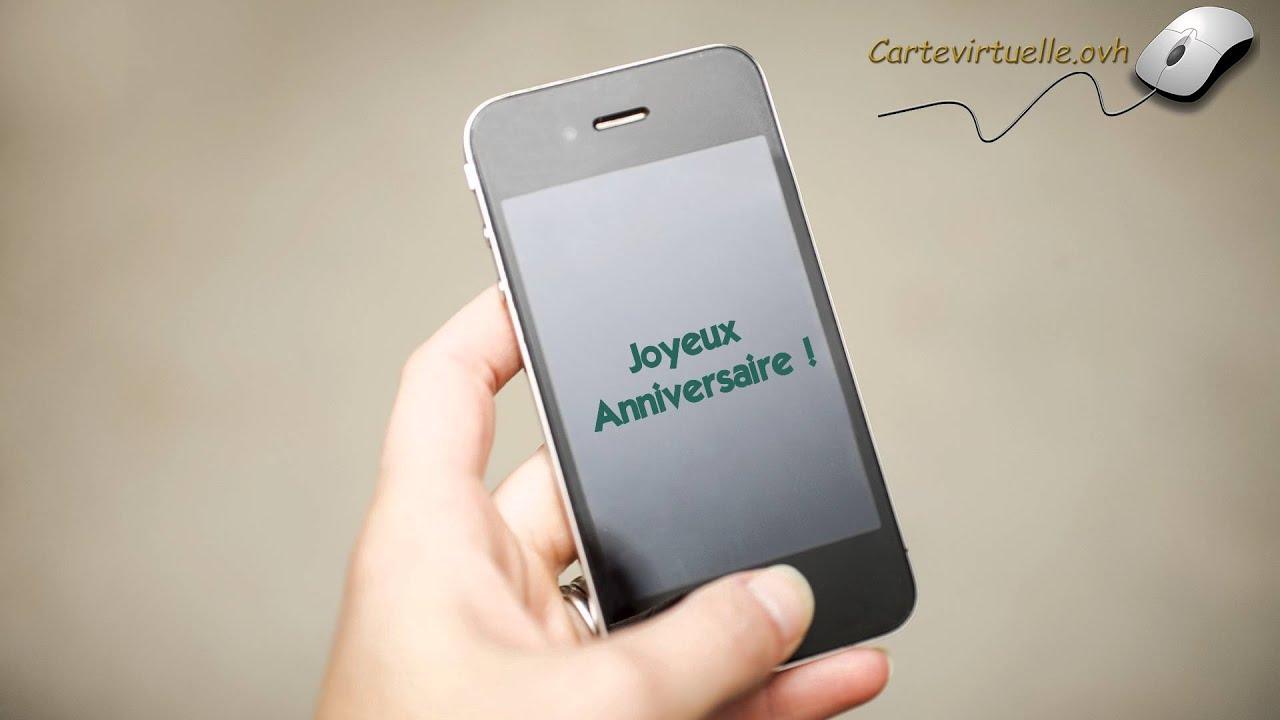 Joyeux Anniversaire Smartphone Youtube