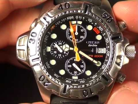 edec209afed Citizen Dive Watch Review  Aqualand Stainless Steel - YouTube