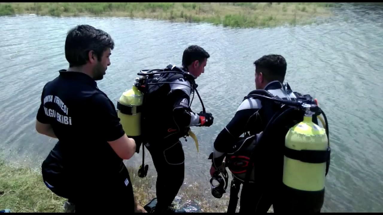 Konya'da baraja giren kişi boğuldu