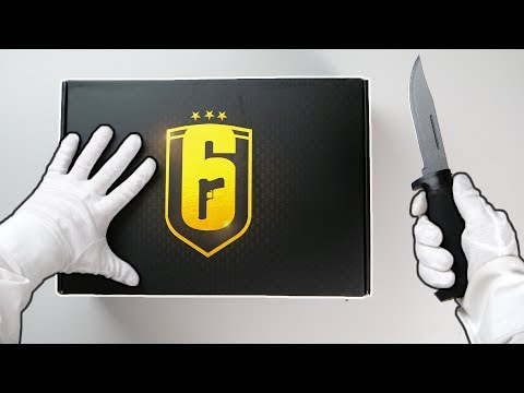 RAINBOW SIX SIEGE UNBOXING! (Collector's Edition & Loot Box) + Original Rainbow Six