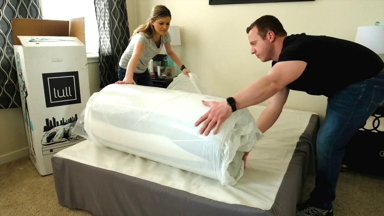 Lull Mattress Delivered In A Box Youtube